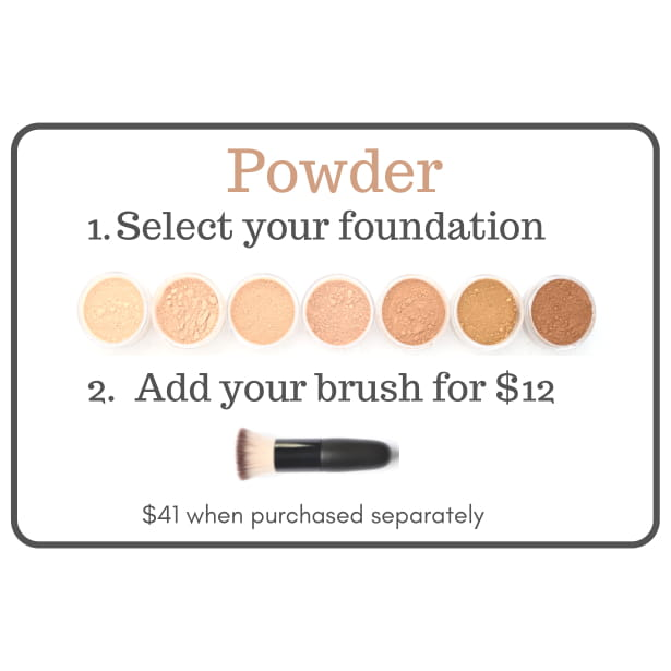 Powder Finish Foundation Set