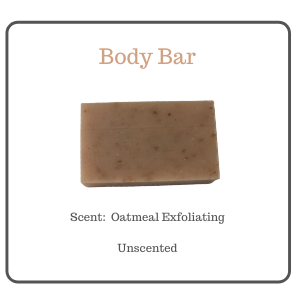 OATMEAL EXFOLIATING  BODY BAR