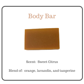 SWEET CITRUS BODY BAR