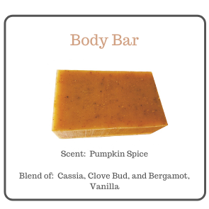 PUMPKIN SPICE EXFOLIATING BODY BAR