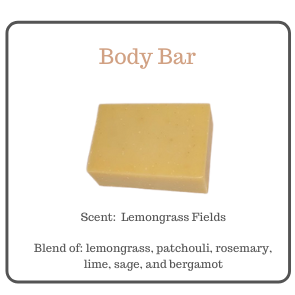 LEMONGRASS FIELDS BODY BAR